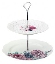 Ashley Thomas Two Tier Cake Stand